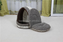 Lovely Pet linen fabric soft plush bed