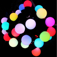 Decorative Colorful Ball Festoon String Lights