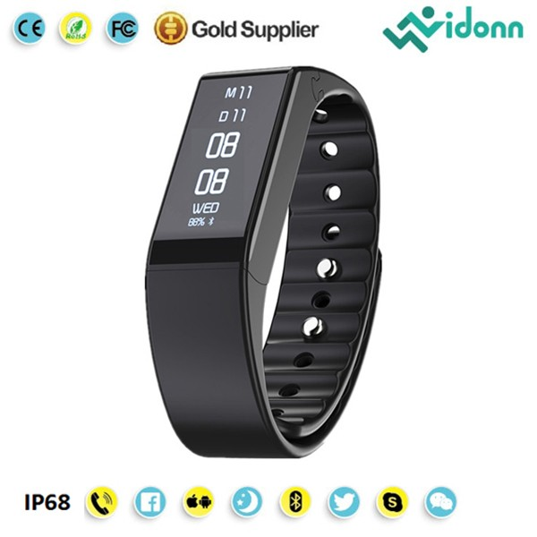 Wearable Devices Pedometer Bluetooth 4.0 Smart Bracelet with free SDK supply