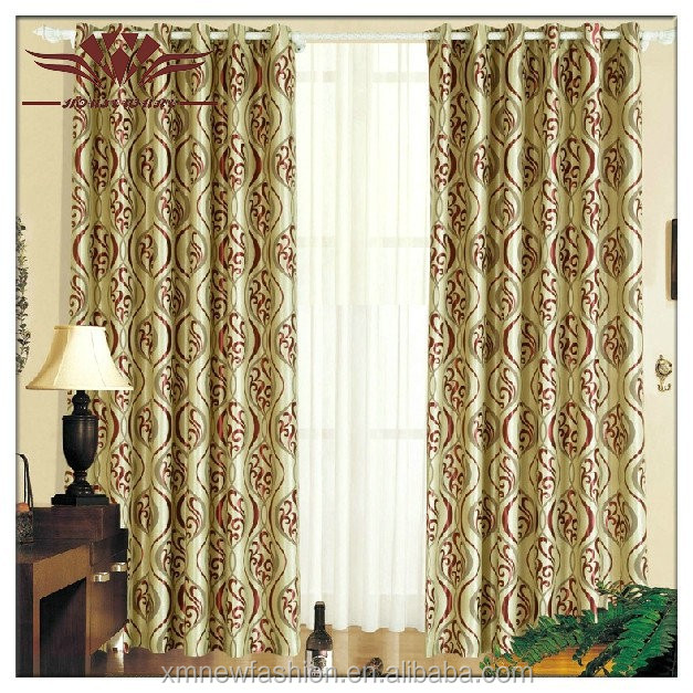 Arabic shiny hotel curtain ,Colton Faux-Silk Rod-Pocket Polka Dot Curtain Panel ,Softline Zen Ikat Window Treatment Collection