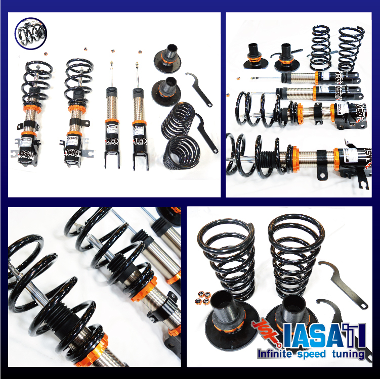 Adjustable macpherson strut spring compressor Nissan coilover suspension