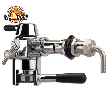 Stainless Steel Beer Bottle Filler  Tap de-foaming Beer Tap for Beer Bar Brewing Equipment Accessories