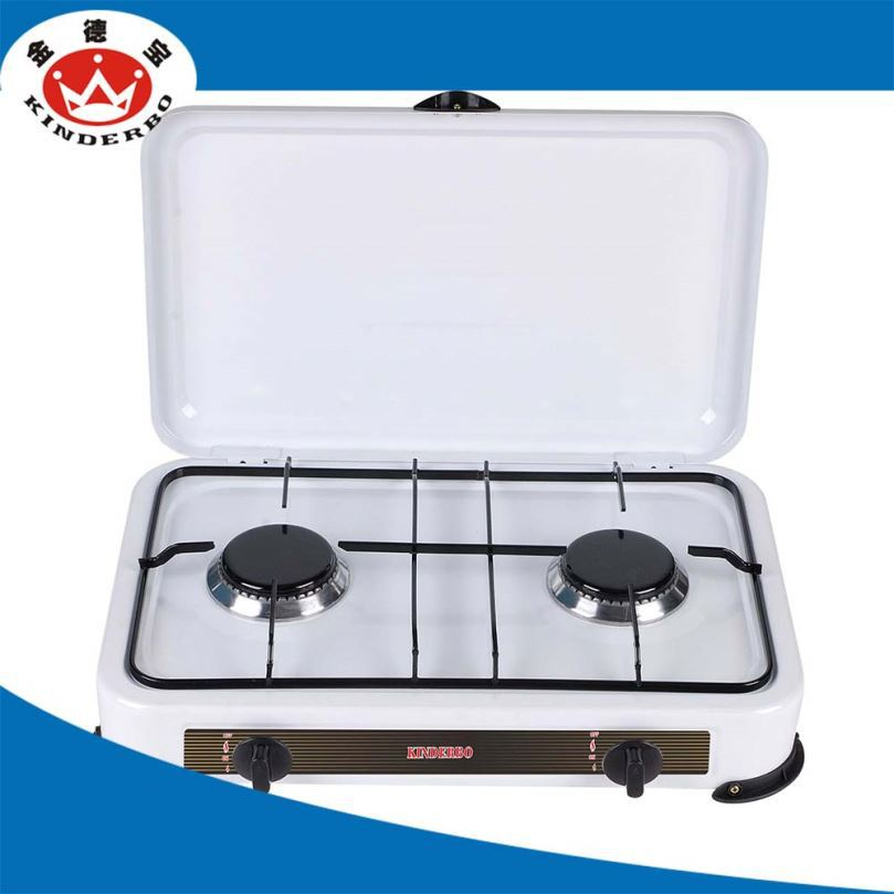 2 burner Stainless Steel cook top gas stove