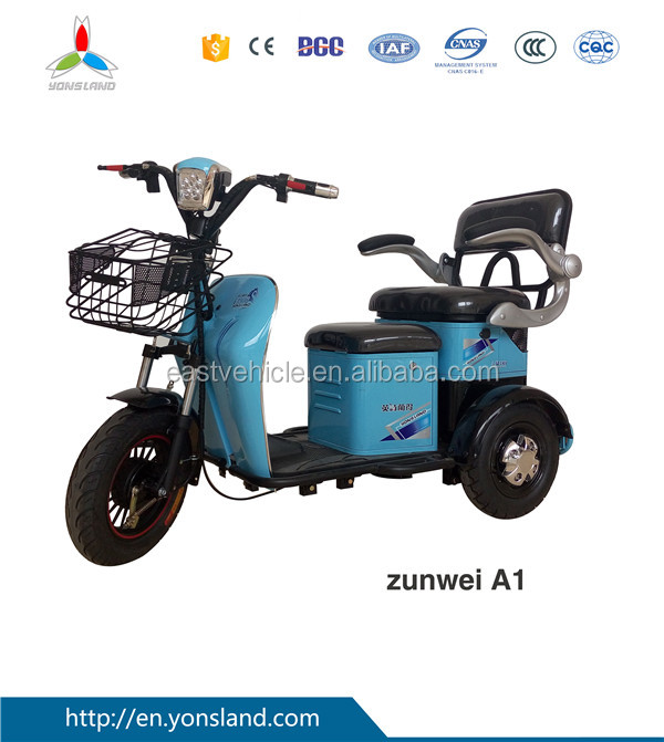 Passenger Seats Electrical Tricycle/Pedicab/Scooter for Handicapped