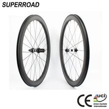 700C Lightweight OEM Bicycle Clincher Wheelset Fiber Road Bike Chinese Carbon Wheel set