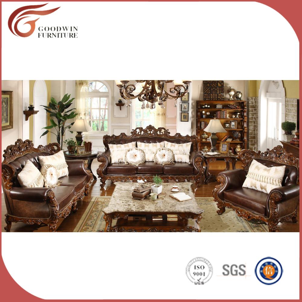 chne classique salon meubles en bois duba nouveau modle meubles salon image de antique