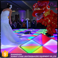 Buy Disco Light Interactive Portable Multi Color Dmx512 Control 30 Channels Led Dance Floor Panel