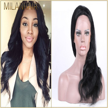 High Quality 100% New Arrival Body Wave Unprocessed Virgin Human Hair Full Lace Wig