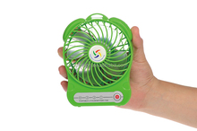 led handheld hp power psc 230v ac mini fan with ce