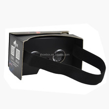 For gift item OEM customized google cardboard 2.0 vr2.0 with custom priting Beijing opera green