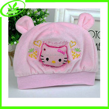 Fashion cute baby cap warm fleece newborn hat