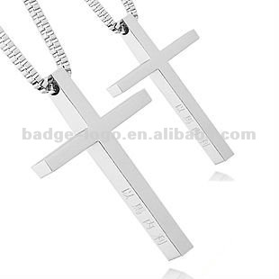 simple enmal,paint couple cute cross pendant