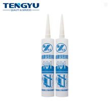 Quality one component clear glass 100% acetoxy silicone sealant