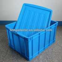 Injection plastic box for storage plastic creat