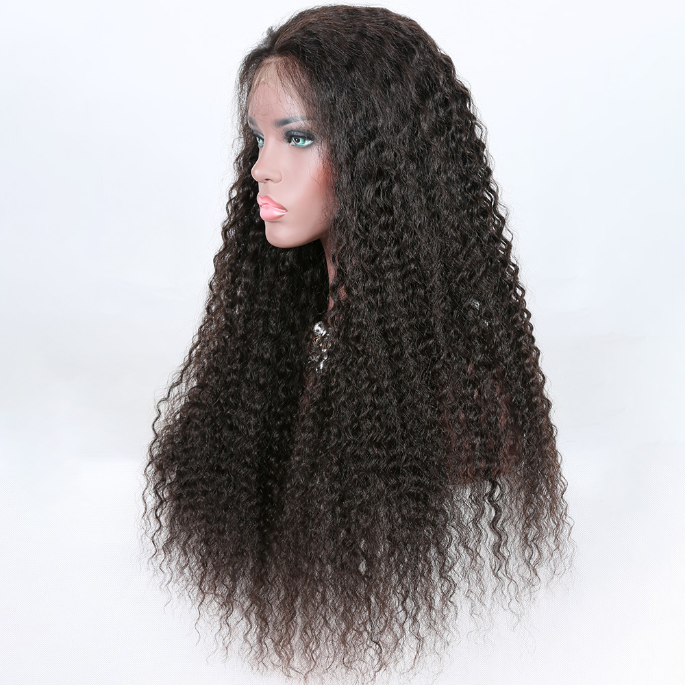 wholesale brazilian 360 lace frontal wig 26 with baby hair