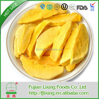 Certified,Excellent quality hot sell sweet freeze dried mango sliced