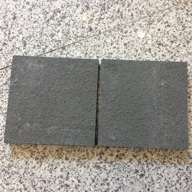 Black Sandstone Flagstone Black Sand Stone Floor Covering