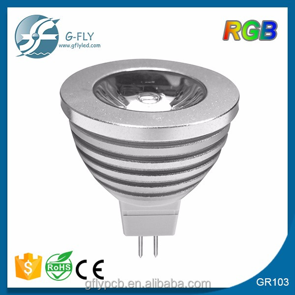 16 Colors changing RGB LED Lamp 3W MR16 AC/DC 12V white light bulb RGB LED Bulb Lamp Spot with Remote
