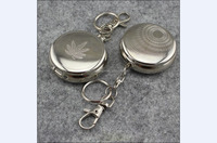 Best seling Cheap Custom Antique Human Round Metal Portable Pocket Ashtray