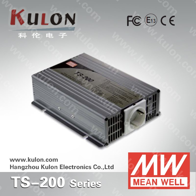 MEAN WELL TS-200 200W Pure Sine Wave Inverter DC To AC Power Inverters