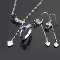 High Quality 925 Sterling Silver Plated Fashion Jewelry Sets S668