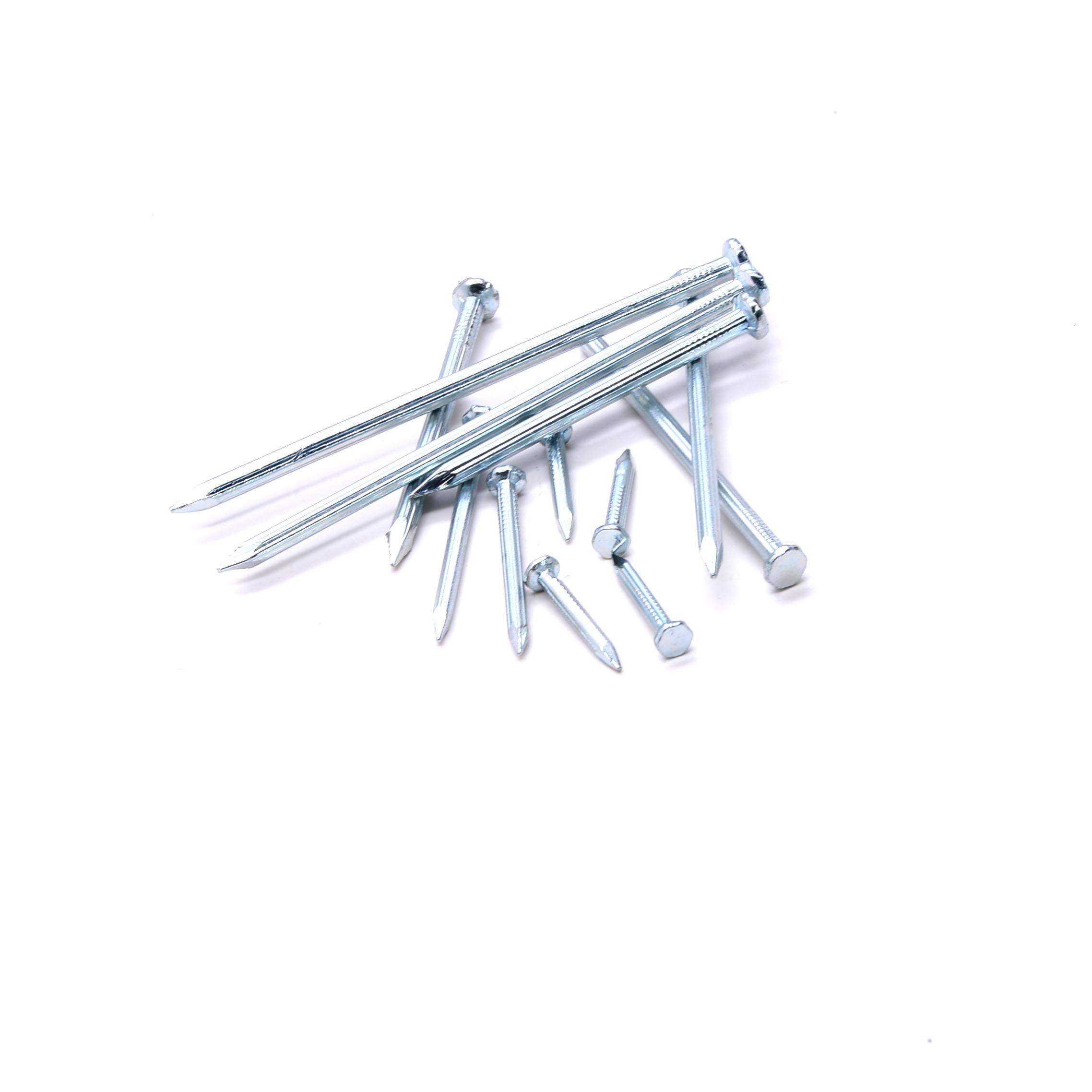 cheaper price 1''-6'' black or galvanized concrete nails/construction nails