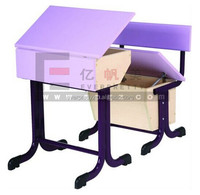Unique Design School Classroom Furniture Folding Kids Mushroom Study Table and Chair Set