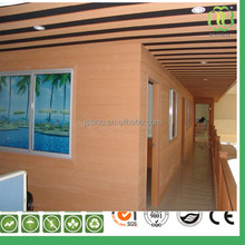 New design wood grain wpc composite decorative wood carving wall panel