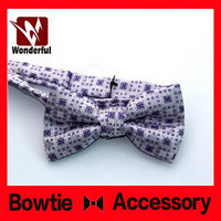 2015 hot selling super quality organza ribbon bow tie