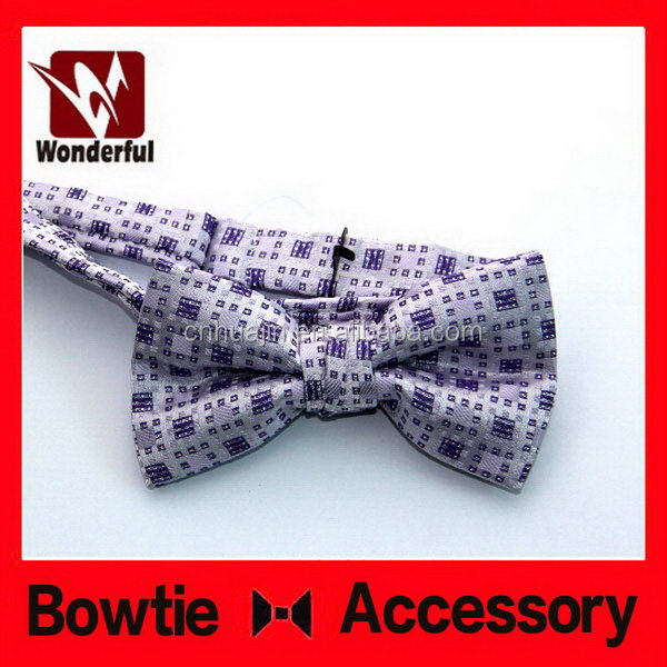 hot selling super quality organza ribbon bow tie