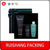 Cheap Price Black Printing Cosmetic Packaging Box/cosmetic gift box /black cardboard box