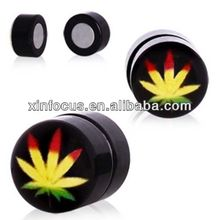 Fake Magnetic Ear Plug Stretcher Expander Body Piercing