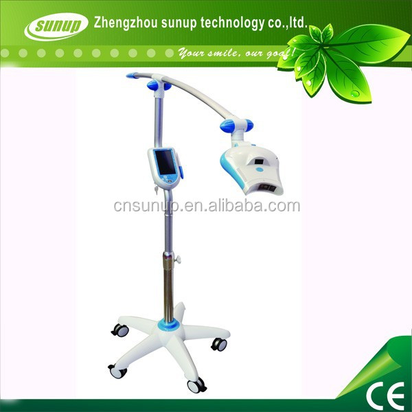 2015 CE approved Led Light Accelerator Mobile Dental Teeth Bleaching Whitening Machine