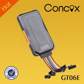 Concox 3G Tracker GT06E Multi-functional Quad-band with SOS Button Gps 3g tracker