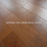 PG08913- REAL WOOD FEELING V-GROOVE TYPE LAMINATE FLOATING FLOORING 8MM