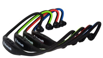 2014 new products wireless sport stereo bluetooth headset with 4 color