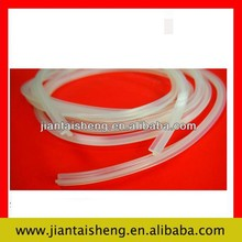 Clear silicone rubber edging strips