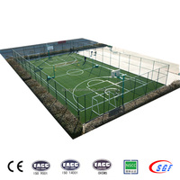 Quality assurance soccer equipment futsal football cage