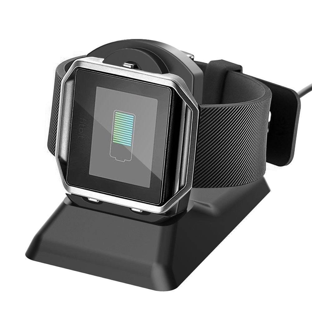 2-in-1 <strong>Watch</strong> and Phone Charging Cradle Stand for Fitbit Blaze Charger and iPhone