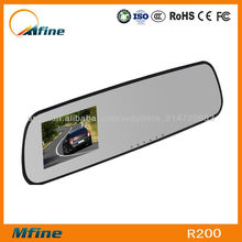 2.7-Inch Car DVR Rearview Mirror With G-Sensor