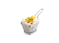 Stainless Steel Rectangular Donut Frying Colander