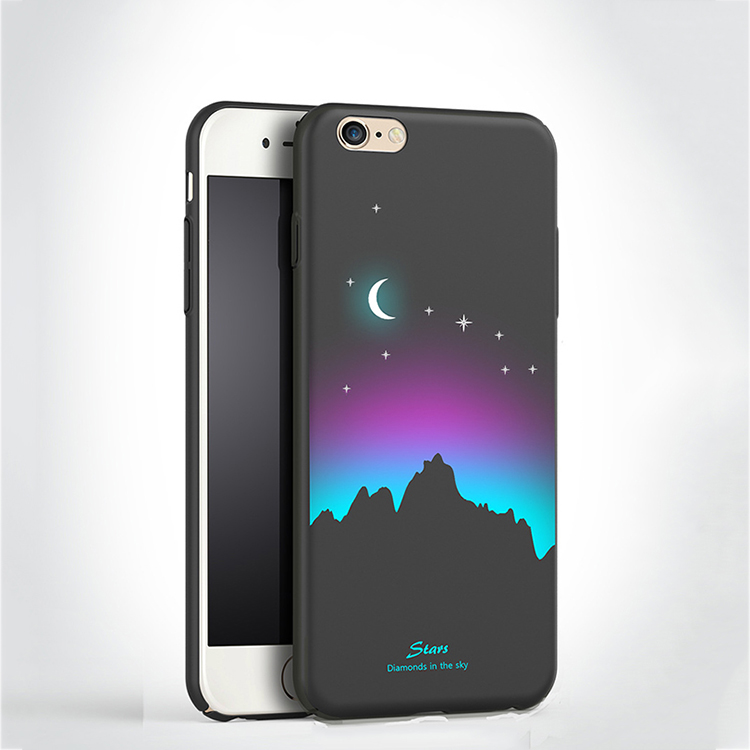 Most popular unique night pattern hard PC plastic smartphone case for iphone 6 6s plus , phone case for iphone 7 7plus