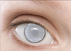 full cover contact lens with special feature as blind person white out color contacts