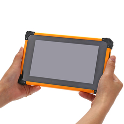 7inch 4G LTE tablet rugged android with fingerprint scanner nfc barcode