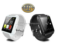 Hot Selling U8 Bluetooth Smart Wrist Watch Smartphone For IOS Android iPhone S4 Samsung HTC