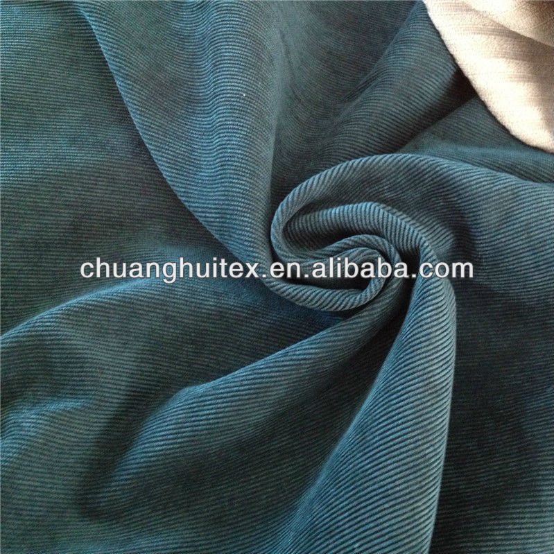 New Arrival polyester sofa fabric corduroy furniture fabric