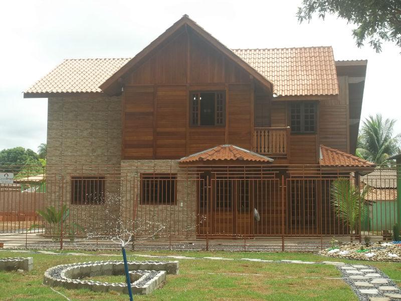 En bois maison pr fabriqu e br sil maisons pr fabriqu es id de produit 149436307 - Maison prefabriquee en bois ...