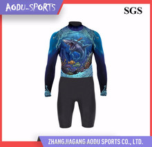 Fashionable breathable good quality adult neoprene fishing wetsuit