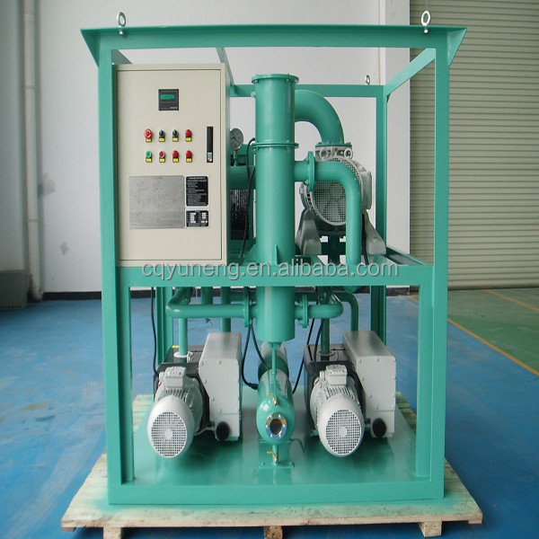 ZJ-600 Vacuum Air Pumping System with Vacuum Pump and Roots Booster Pump Group for Transformer Vacuum Erection