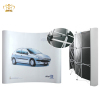Aluminum Magnetic Pop Up Banner Stand Display Rack
